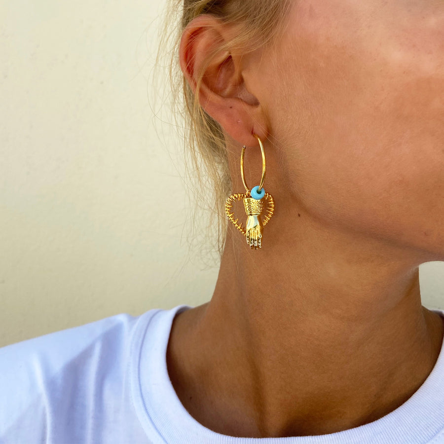 Katerina psoma hoops unmatched demi fine jewelry