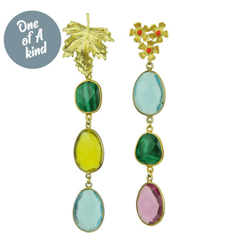 Veronica Dangle Earrings with Studs