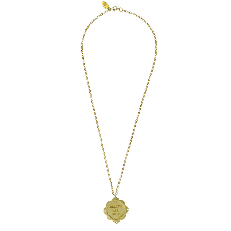 Katerina Psoma New year charm gold plated