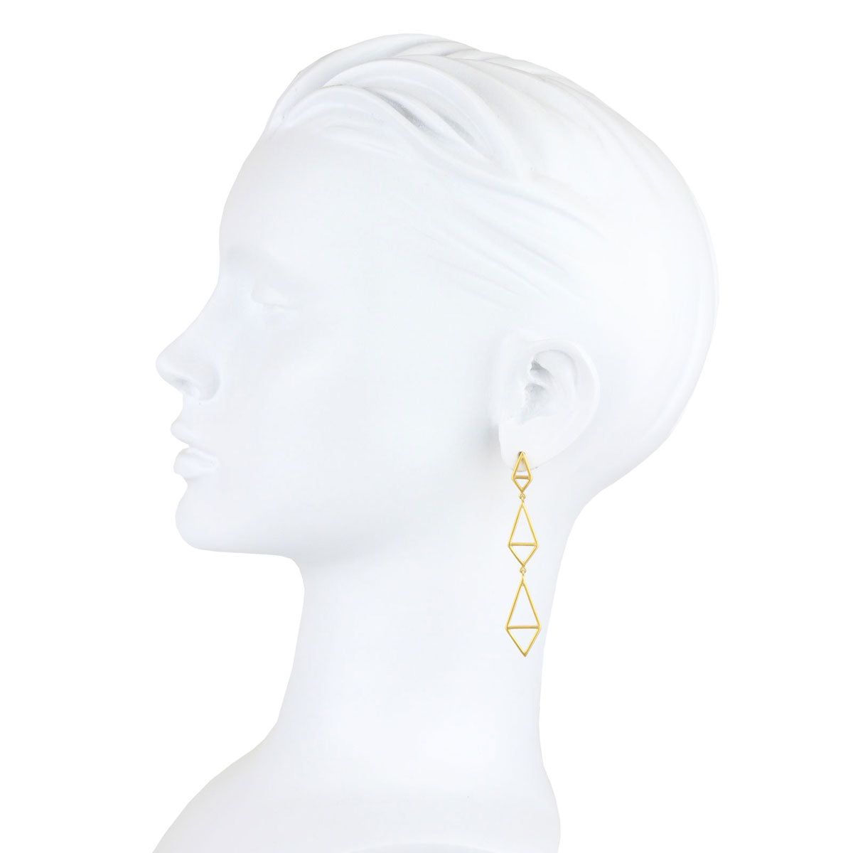 Tinos 9 kt Gold Dangle Earrings