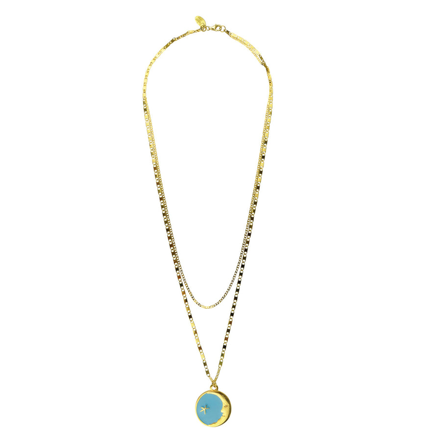 Turquoise Pendant Necklace fashionable