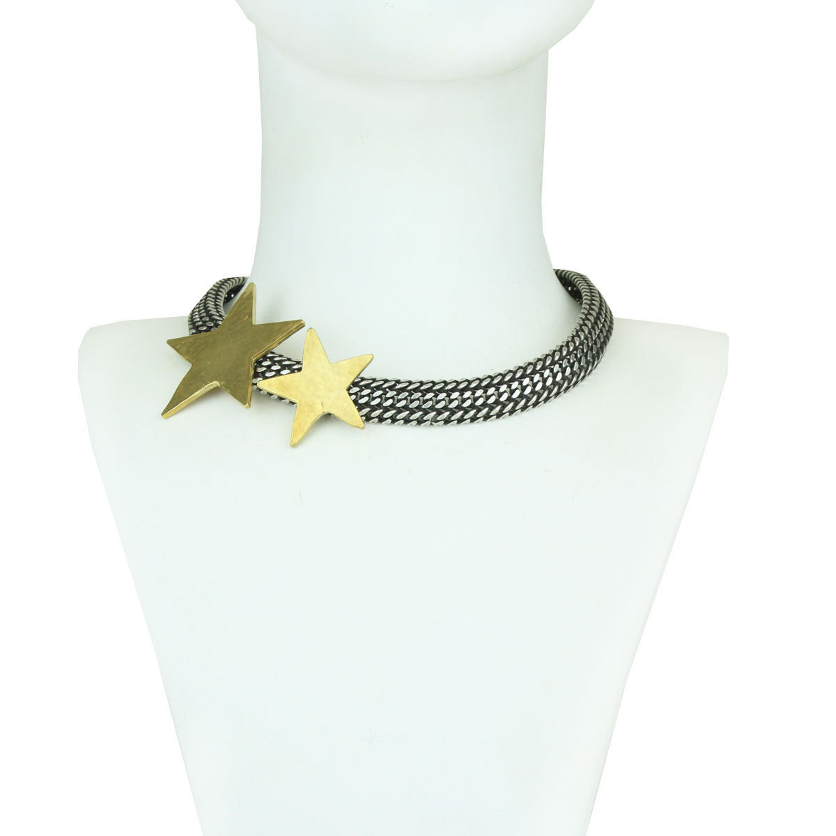 Celeste Silver Chain and Star Necklace