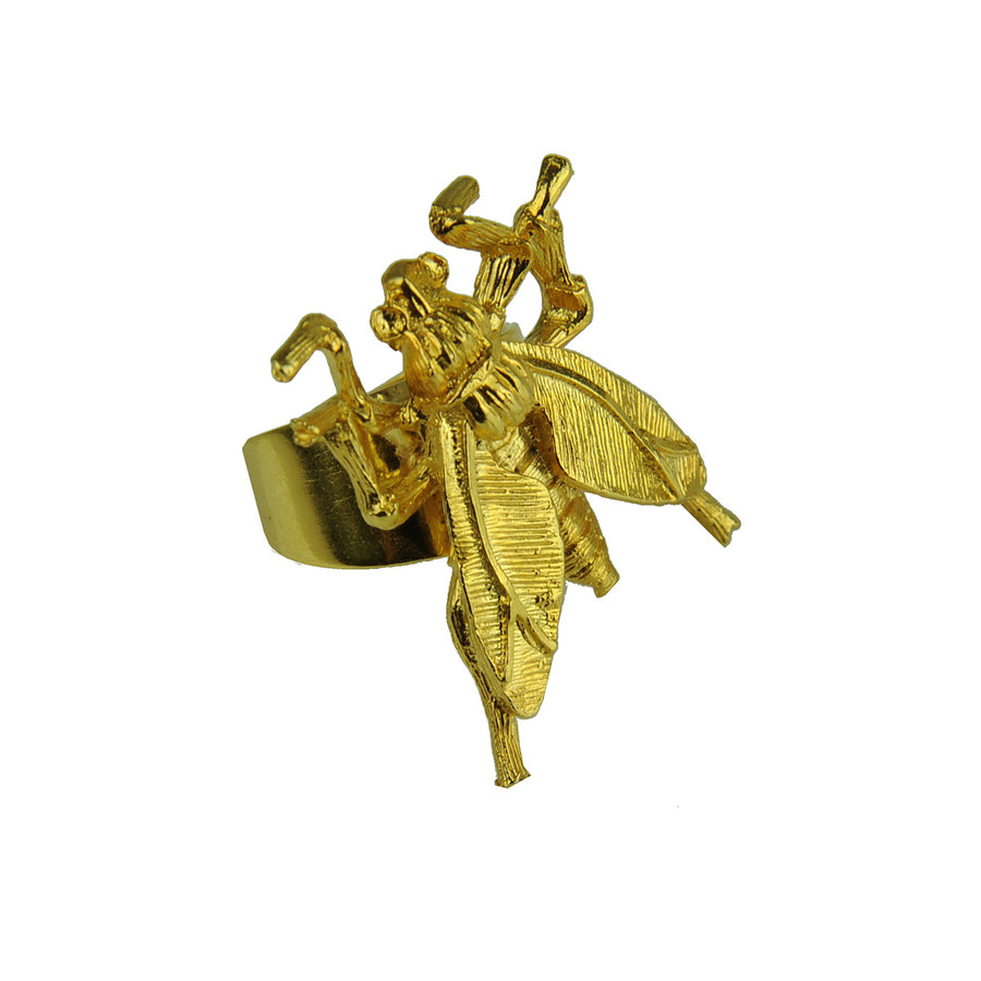 Katerina Psoma Wasp Gold Plated Ring