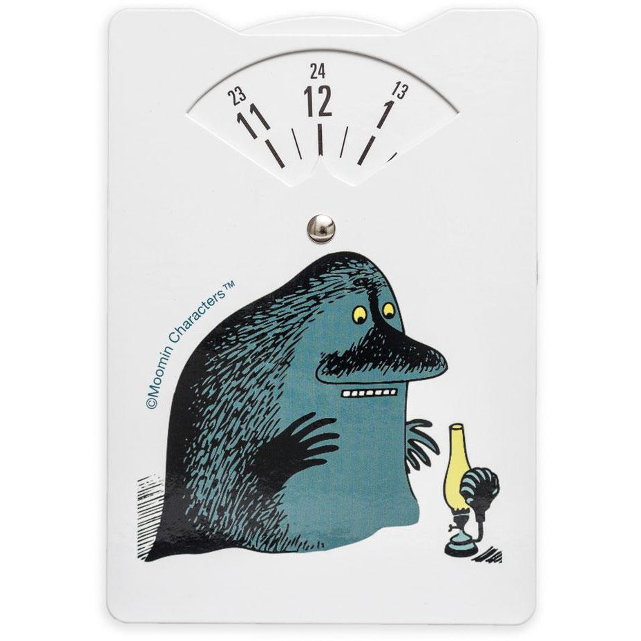 The Groke Parking disc - Aurora Decorari - The Official Moomin Shop