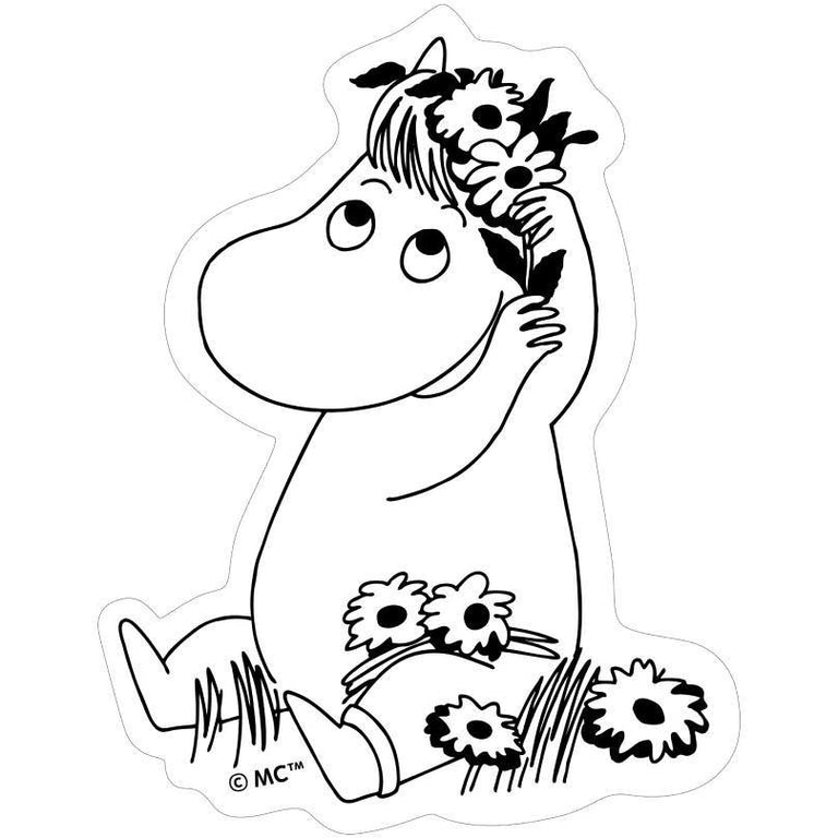 Snorkmaiden Laptop Sticker - Moomin.com - The Official Moomin Shop