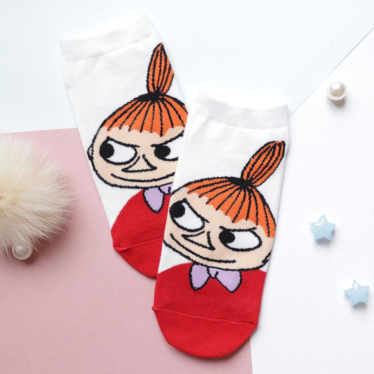 Little My white socks - The Official Moomin Shop