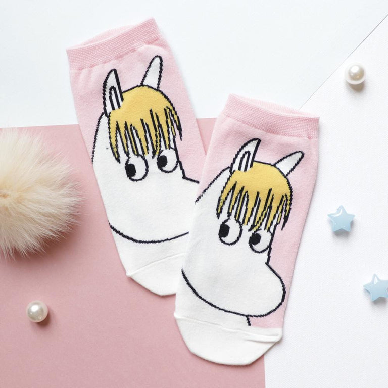 Snorkmaiden pink socks - The Official Moomin Shop