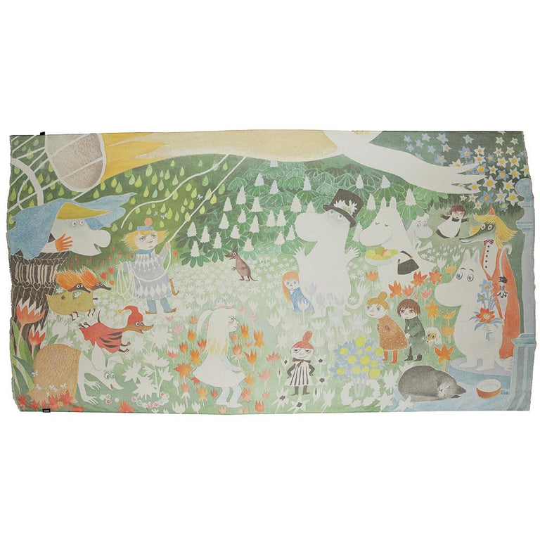 "Moomin ""Dangerous Journey"" Scarf - Lasessor - The Official Moomin Shop"
