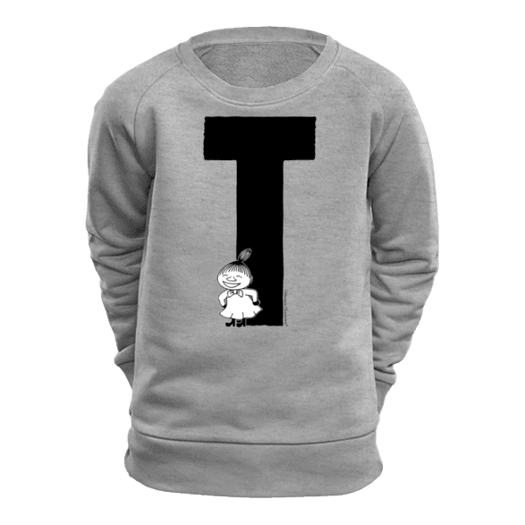 T - Moomin Alphabet Sweatshirt - feat. Moomin, Little My and Snufkin - The Official Moomin Shop