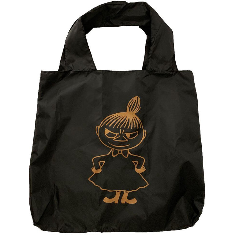 Little My Eco Carrybag  black - Showroom - The Official Moomin Shop