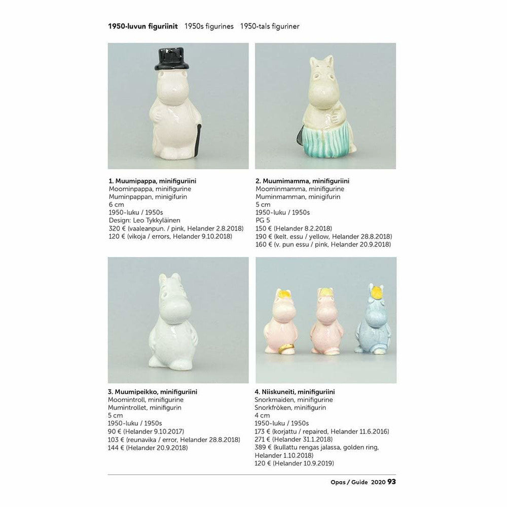 Arabia Moomin Collectors' Guide - The Official Moomin Shop