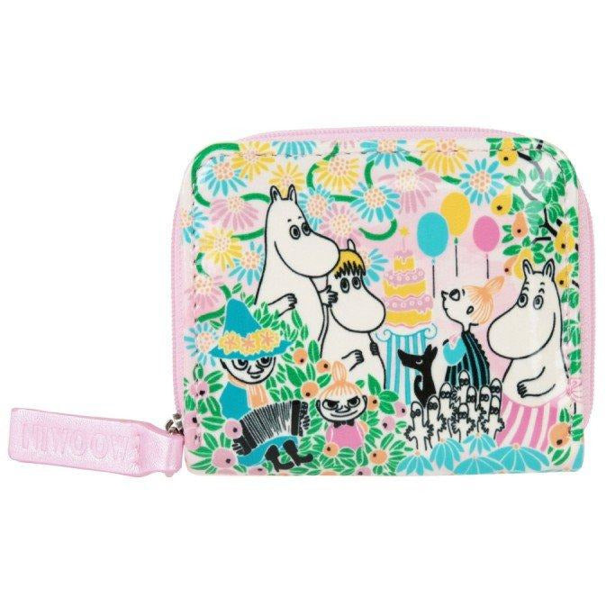 Moomin Garden Party-wallet - The Official Moomin Shop