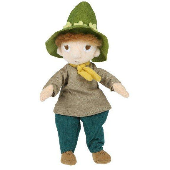 Snufkin plush toy 22 cm by Martinex - The Official Moomin Shop