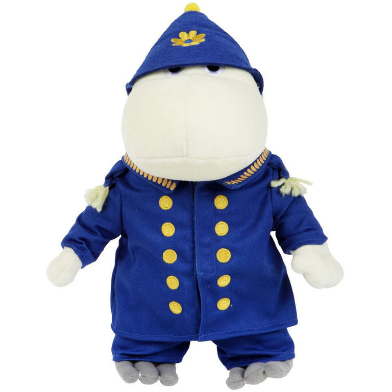 Police Hemulen 23 cm Plush Toy - Martinex - The Official Moomin Shop