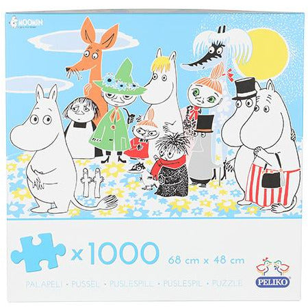 Moomin Puzzle 1000 pcs - Martinex - The Official Moomin Shop