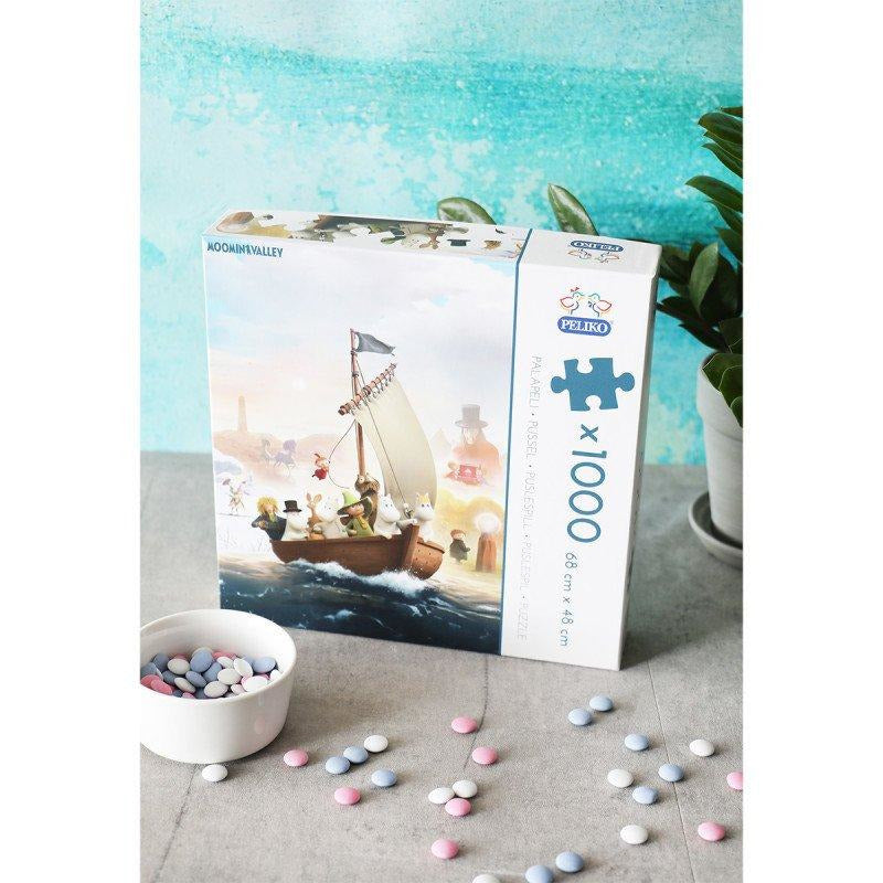 Moominvalley Puzzle 1000pc - Martinex - The Official Moomin Shop