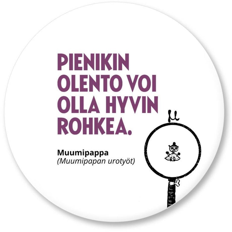 "Moomin ""Pieni olento"" Magnet - Putinki - The Official Moomin Shop"