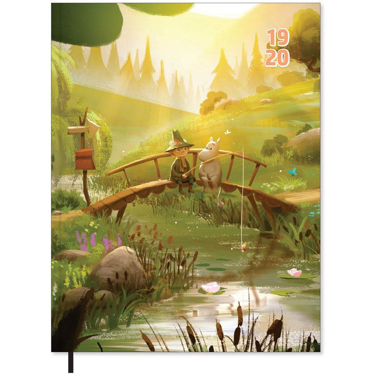 Moomin Bridge calendar 2019-2020 - The Official Moomin Shop