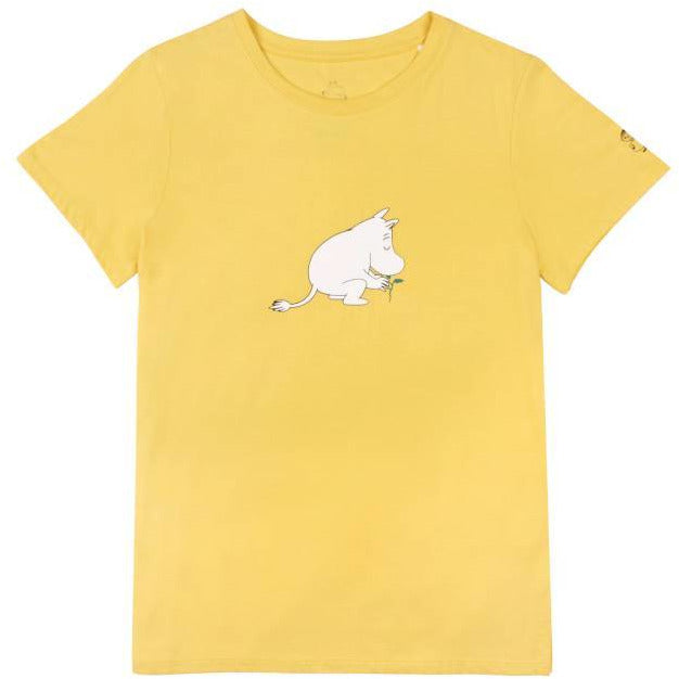 "Moomin ""Leaf"" T-shirt- People Tree - The Official Moomin Shop"