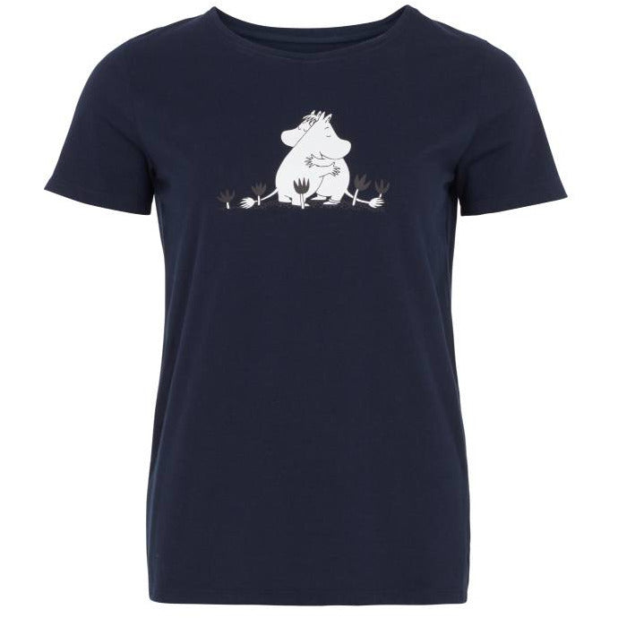 "Moomin ""Hug"" T-shirt- People Tree - The Official Moomin Shop"