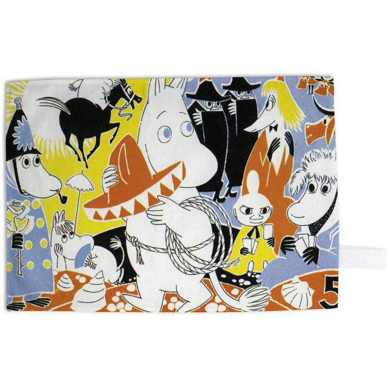 "Moomin ""Adventure"" Kitchen Towel - Star Edition - The Official Moomin Shop"