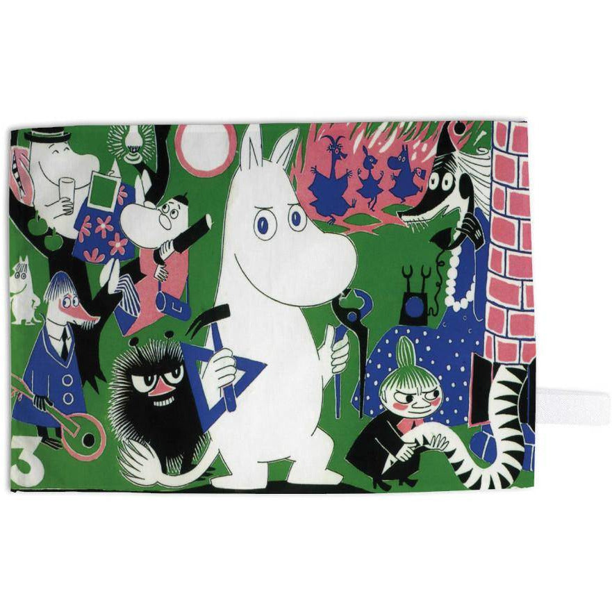 "Moomin ""Working"" Kitchen Towel - Star Edition - The Official Moomin Shop"
