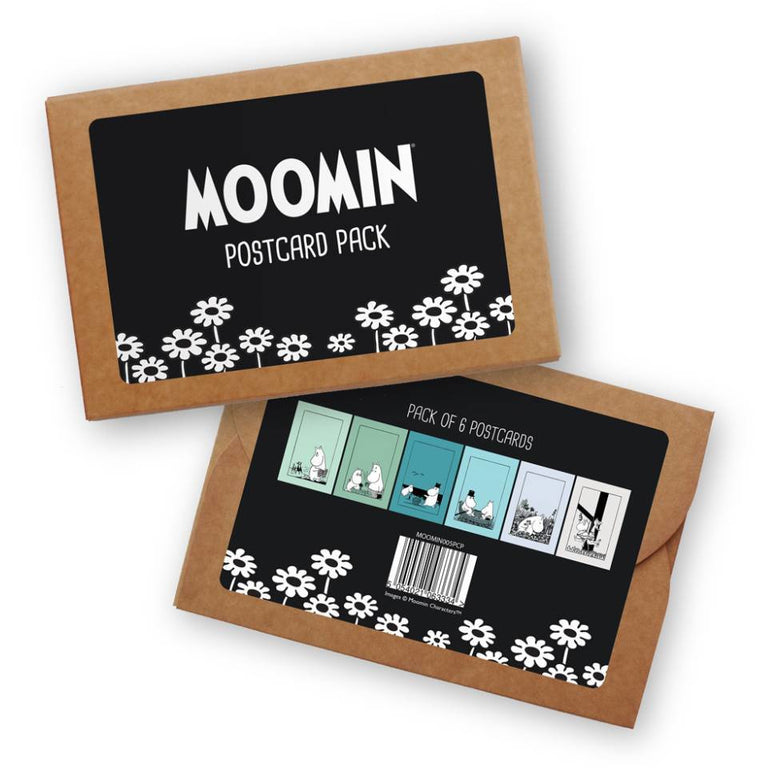 "Moomin ""Blues"" Postcard 6-Set - Star Edition - The Official Moomin Shop"