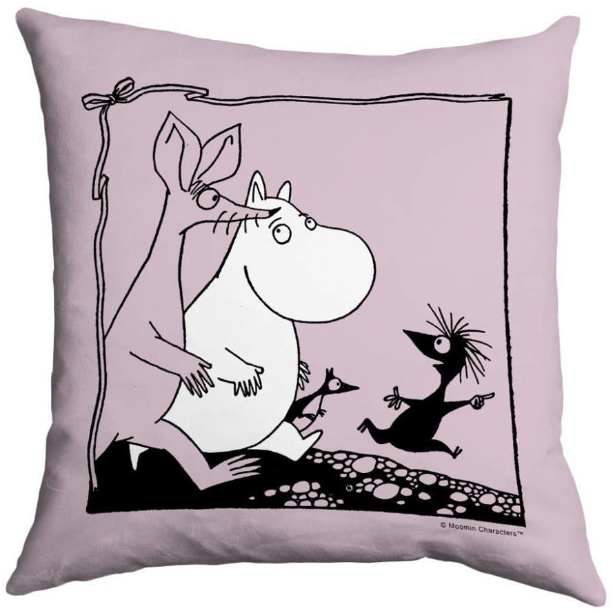 Moomintroll & Sniff Cushion Cover - Star Editions - The Official Moomin Shop