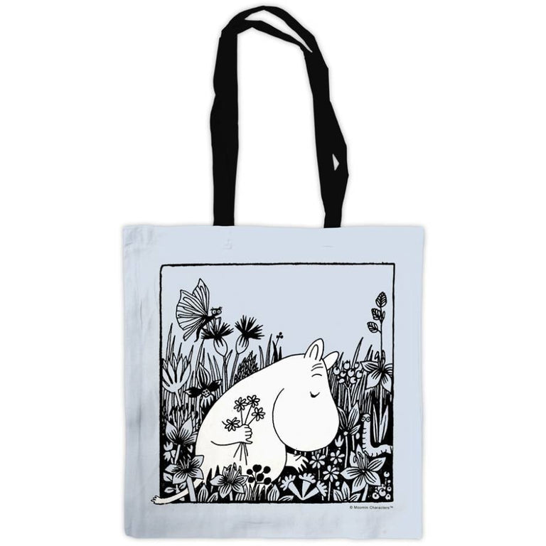 "Moomin ""Flowers"" Tote Bag - Star Editions - The Official Moomin Shop"
