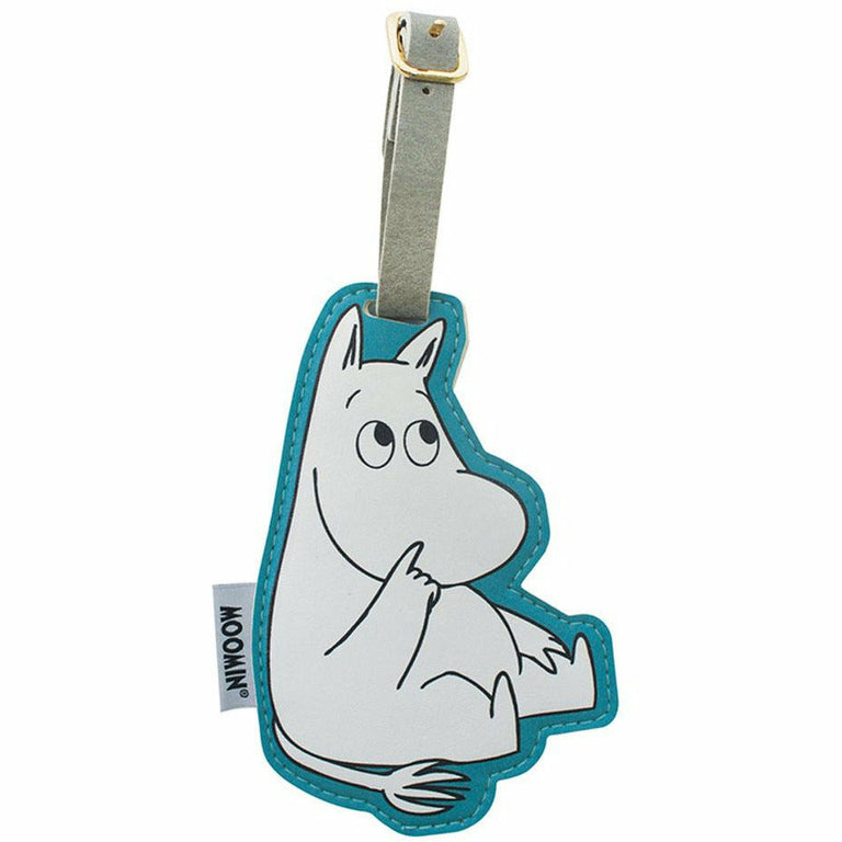 Moomintroll Luggage Tag - Disaster Designs - The Official Moomin Shop
