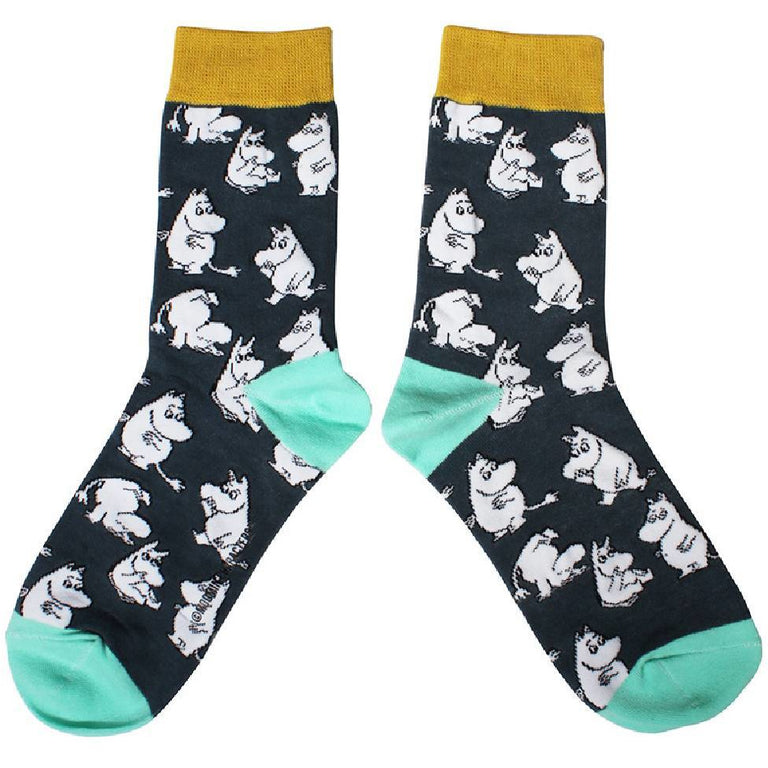 Moomintroll Socks - Disaster Design - The Official Moomin Shop