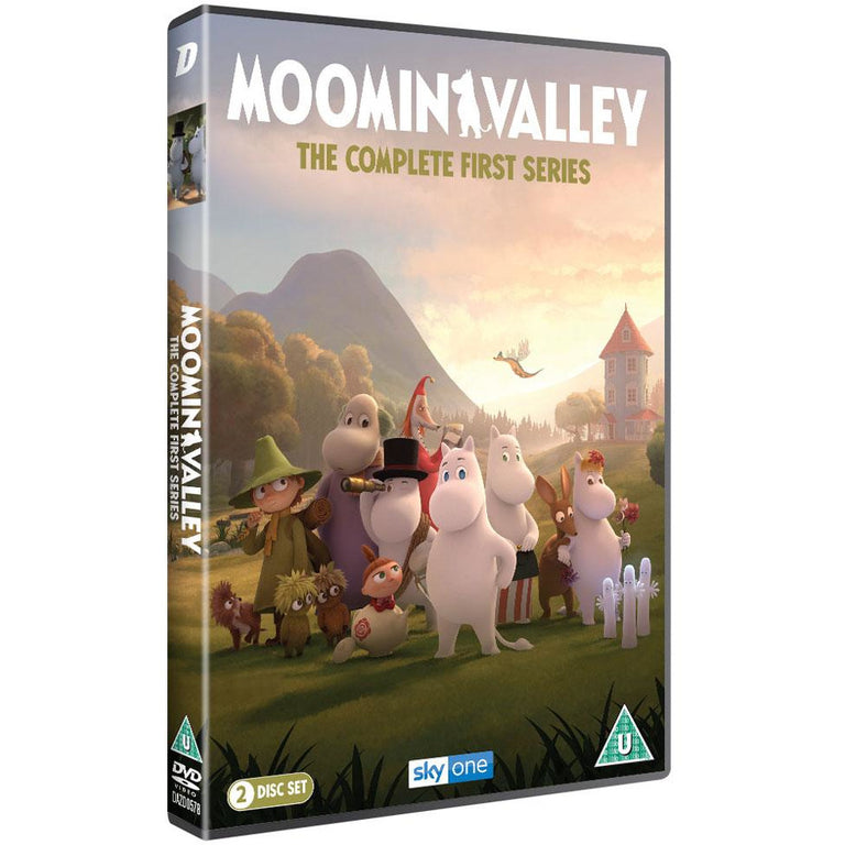 Moominvalley The Complete First Series DVD in English - Dazzler - The Official Moomin Shop