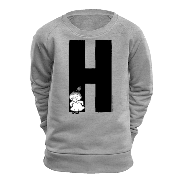 H - Moomin Alphabet Sweatshirt - feat. Moomin, Little My and Snufkin - The Official Moomin Shop