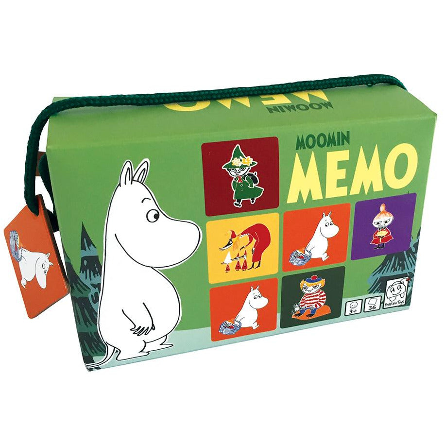 Moomintroll Memory game - Barbo Toys - The Official Moomin Shop