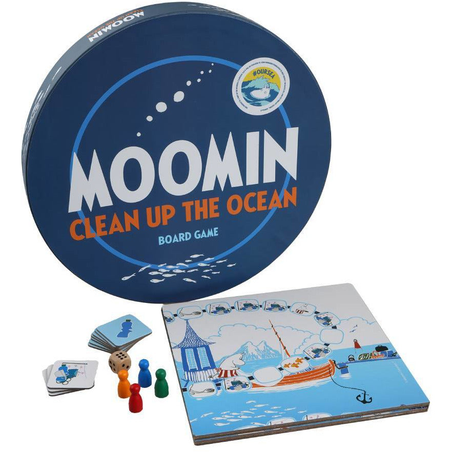 #OURSEA Moomin Board game - Barbo Toys - The Official Moomin Shop