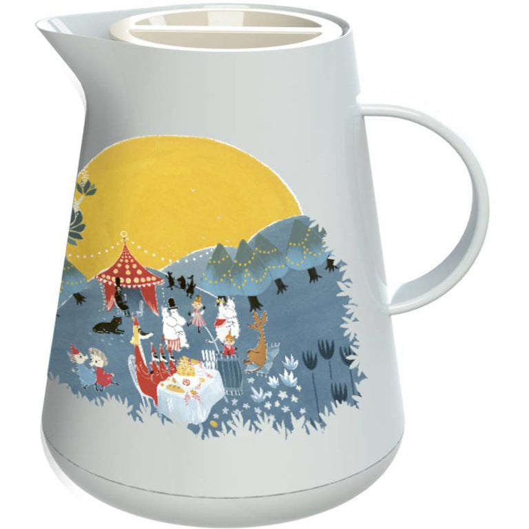 Moomin Vacuum Jug 1l blue - Stelton - The Official Moomin Shop
