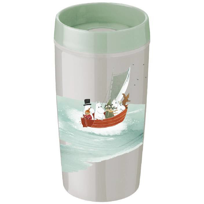 Moomin Thermal Flask 0,34 l green - Stelton - The Official Moomin Shop