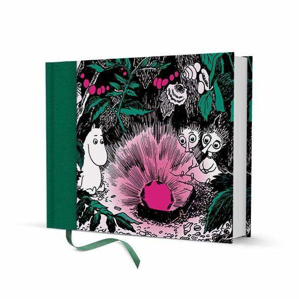 Hard cover Ruby Notebook by Putinki - The Official Moomin Shop