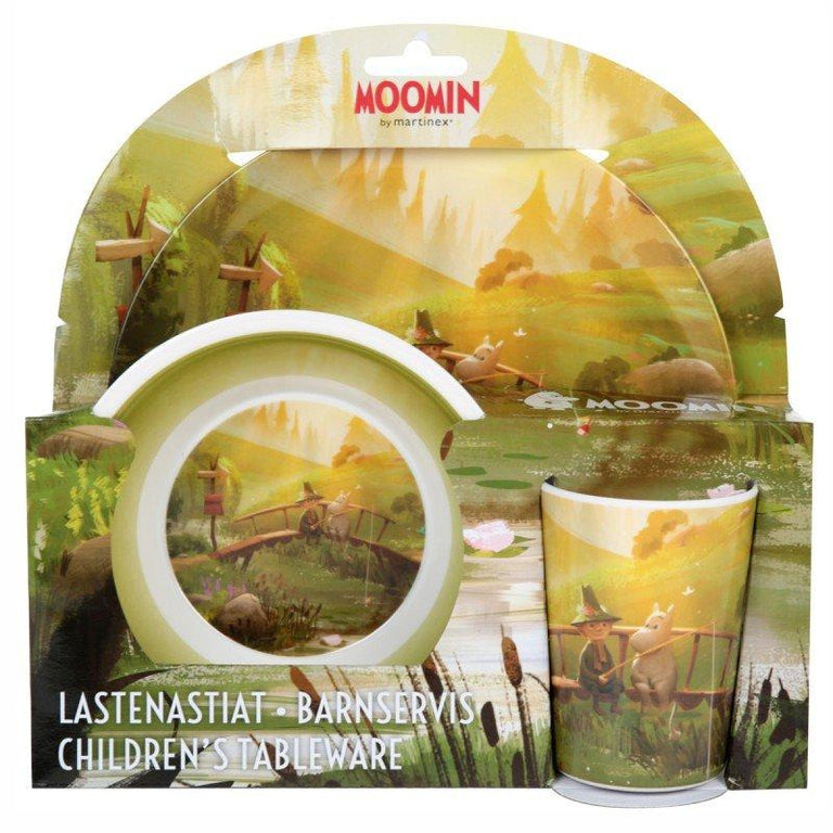 Moominvalley - Kids' Dinner Set by Martinex - The Official Moomin Shop