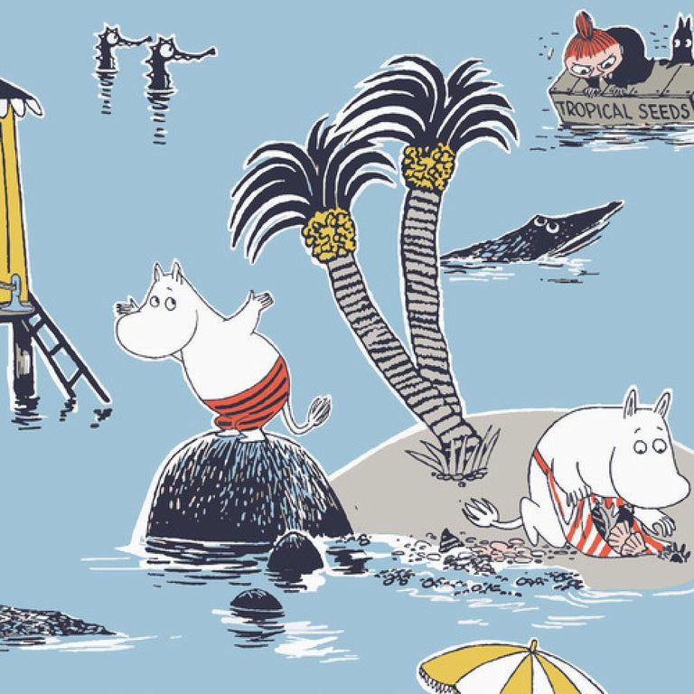 Moomin Napkins Treasure Island - Suomen Kerta - The Official Moomin Shop