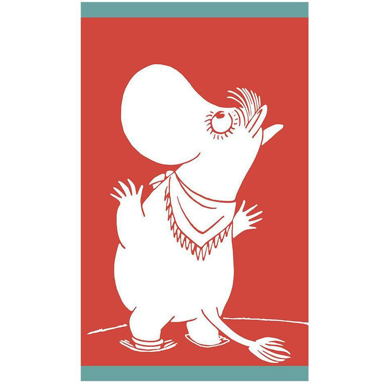 Snorkmaiden Admiring hand towel 30 x 50 cm by Finlayson - The Official Moomin Shop