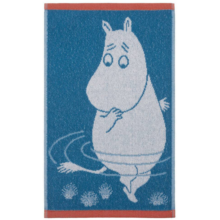 Moomintroll Hand Towel 30 x 50 cm - Finlayson - The Official Moomin Shop