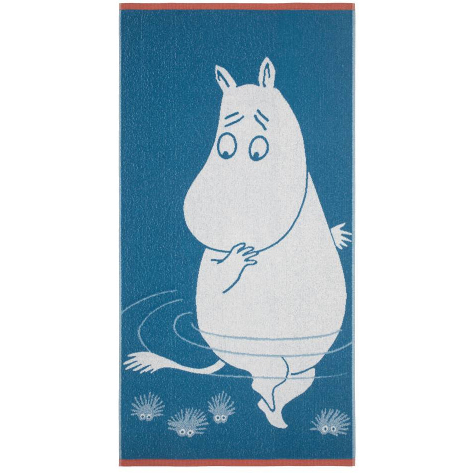 Moomintroll Bath Towel 70 x 140 cm - Finlayson - The Official Moomin Shop
