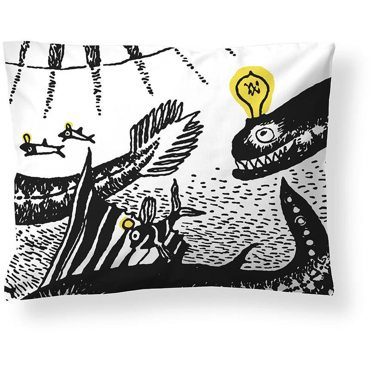 Moomin Oshun Oxtra pillow cover 50 x 60 cm - The Official Moomin Shop