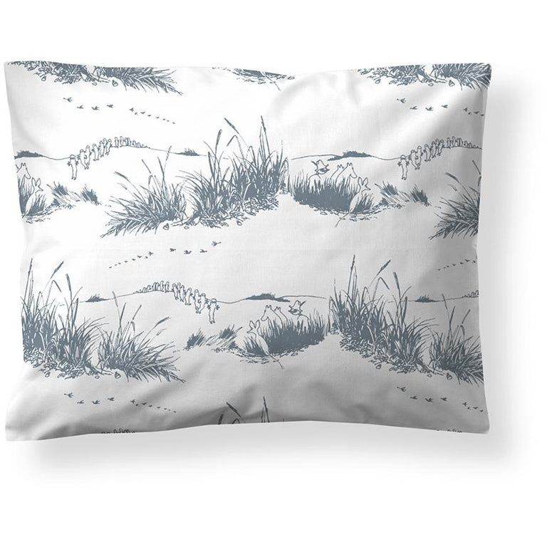 Dune Moomin jersey pillow cover 50 x 60 cm by Finlayson - The Official Moomin Shop