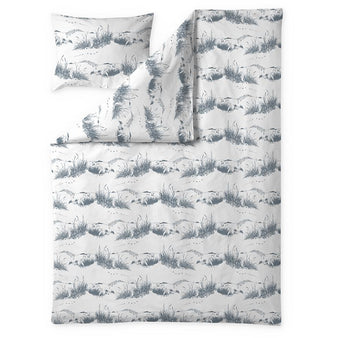 Dune Moomin jersey duvet cover set 150 x 210 cm by Finlayson
