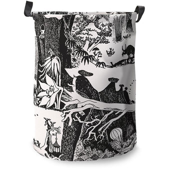 Adventure Moomin basket large by Finlayson