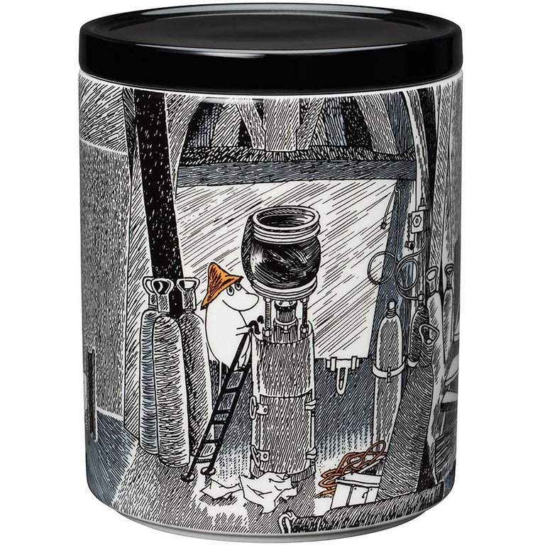"Moomin ""True to its origins"" Jar 1,2L - Arabia - The Official Moomin Shop"