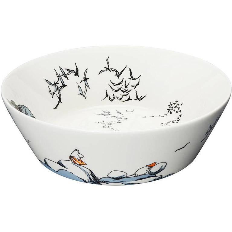 Moomin serving bowl 23 cm - True to its origins by Arabia - The Official Moomin Shop