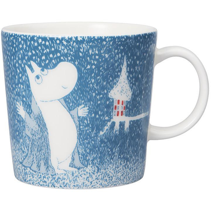 Moomin Winter mug 2018 – Light Snowfall - The Official Moomin Shop